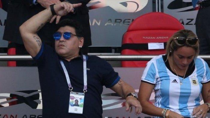 Keluar Masuk Rumah Sakit Sejak 2015, Ini Penyebab Diego Maradona Meninggal