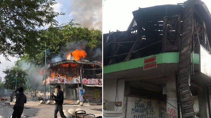Labfor Mabes Polri Periksa Sejumlah Barang Bukti Pembakaran Legian Garden Resto, Ada Bom Molotov
