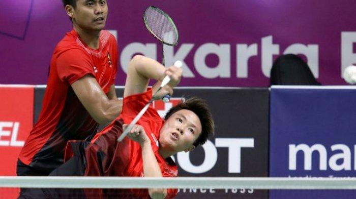 Tekuk Wakil Hong Kong, Tontowi Ahmad/Liliyana Natsir Melangkah ke Semifinal Asian Games 2018
