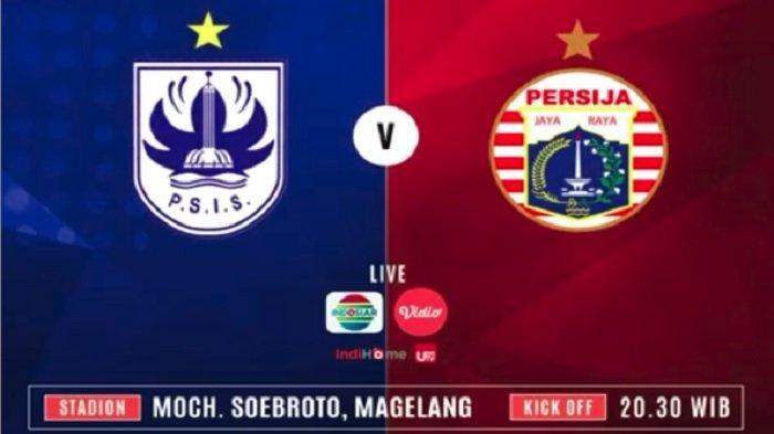 Link Live Streaming PSIS Vs Persija di Indosiar Minggu (26/5), Waspada Kebangkitan Mahesa Djenar