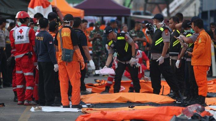 RS Polri Sampai Hari Ini Periksa 195 Kantong Jenazah Korban Lion Air JT 610