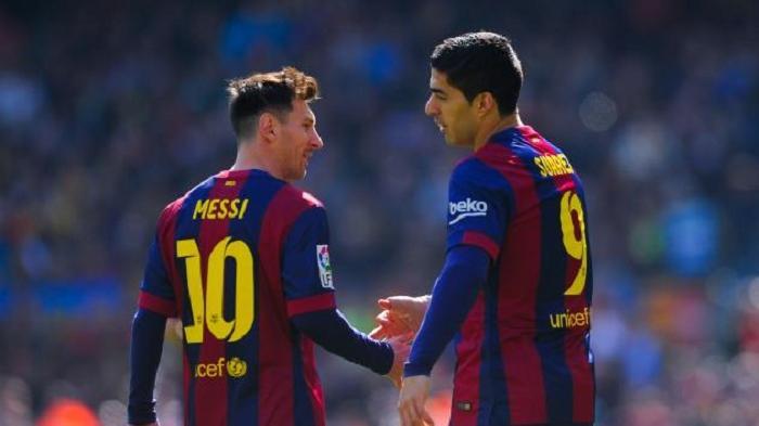 Momen Haru Luis Suarez Ucapkan Perpisahan dengan Barcelona, Menitikkan Air Mata saat Mulai Bicara