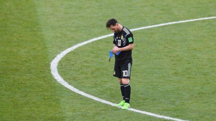 Gagal Eksekusi Penalti Lawan Islandia, Lionel Messi Incar Kemenangan di Dua Laga Sisa