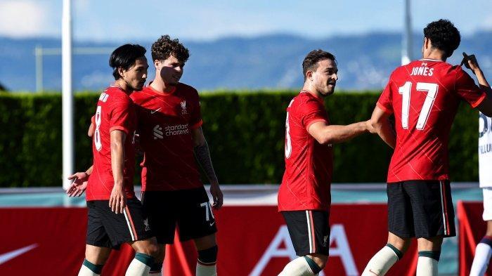 Hasil Laga Pramusim Liverpool vs Bologna, Klopp Peraya Diri Dengan Permainan Minamino