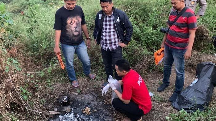 Penemuan Tulang Belulang Manusia yang Sudah Hangus Gegerkan Warga Mojokerto