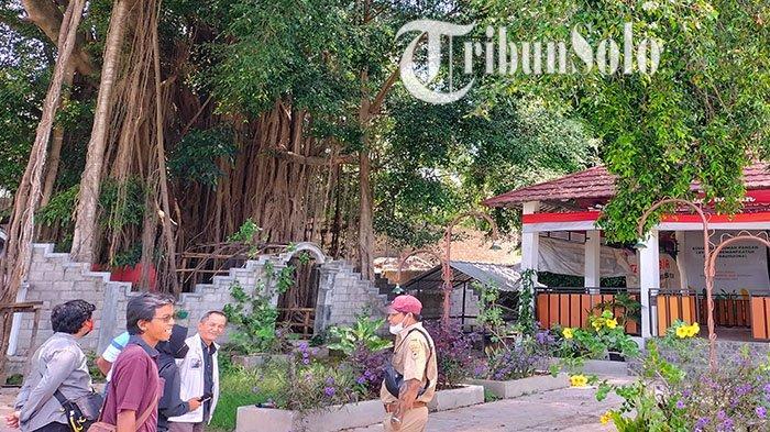Lokasi Sendang Songo, yang ada di Dukuh Slembi, Desa Jurug, Kecamatan Mojosongo, Kabupaten Boyolali, Senin (11/10/2021).
