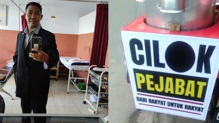 Viral Pedagang Cilok Pakai Jas ala Pejabat, Sebelum Keliling Jualan Didandani di Salon Dulu