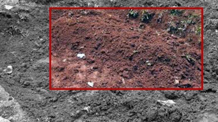 Penampakan Makam Pelaku Penyerang Mabes Polri, Hanya Gundukan Tanah : Tanpa Bunga & Nisan