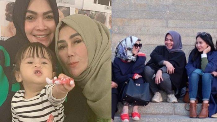 Sempat Positif Covid-19, Mama Rieta Amilia Beri Ucapan Manis untuk Mama Amy yang Ulang Tahun ke-56