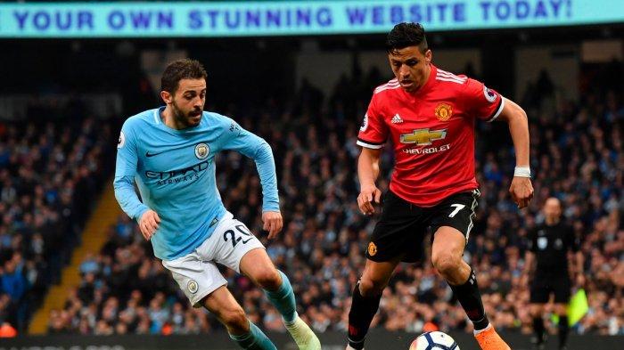 Link Live Streaming Manchester United vs Manchester City, Saksikan Dinihari Nanti Pukul 00.30 WIB
