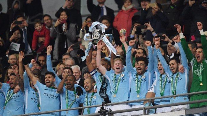 Manchester City Juara Piala Liga Inggris Usai Bantai Arsenal