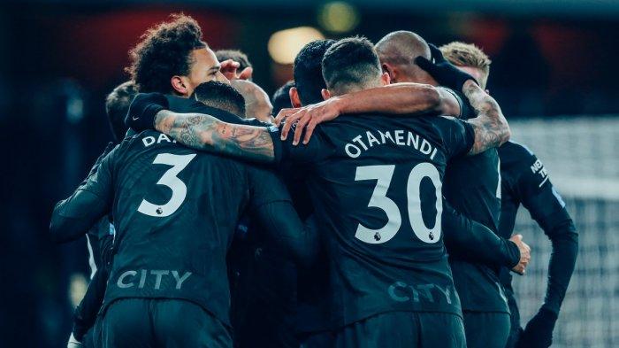 Manchester City Kembali Bantai Arsenal Tiga Gol Tanpa Balas