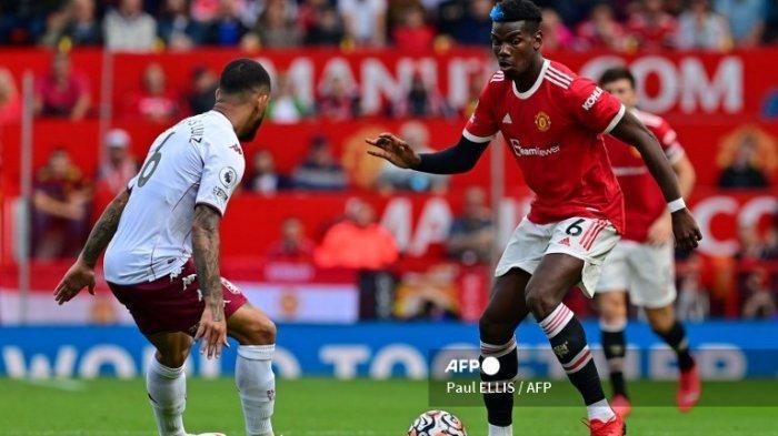 Hasil MU vs Aston Villa, The Reds Devil Kalah 0-1, Solksjaer Anggap Gol Kortney Hause Tak Sah
