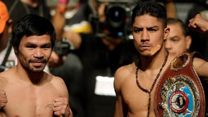 Kalahkan Jessie Vargas, Manny Pacquiao Rebut Lagi Gelar Juara Kelas Welter WBO