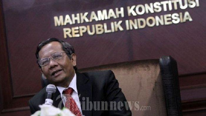 Mahfud MD: Bukan MK yang Tetapkan Pemenang Pilpres 2019, KPU yang Tentukan