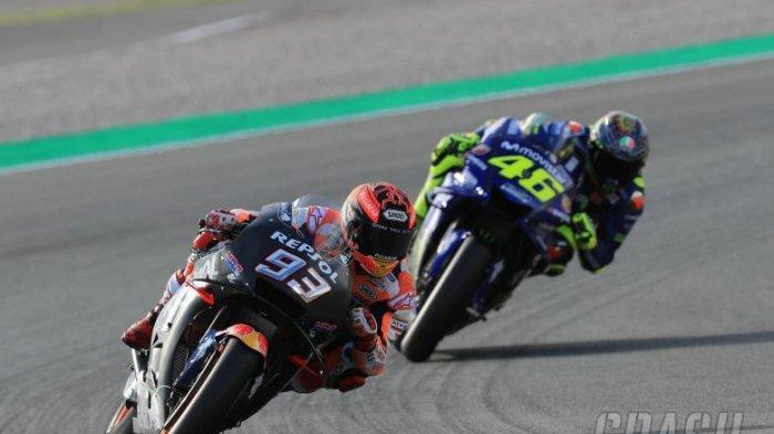 Aksi Saling Senggol di MotoGP Argentina 2015, Jadi Awal Perseteruan Rossi dan Marquez