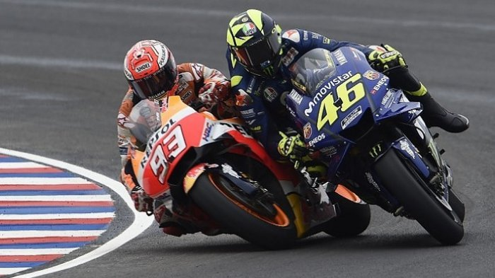 Marc Marquez Semakin Dekat Gelar Juara, Valentino Rossi Mengaku Yamaha saat Ini Tertinggal
