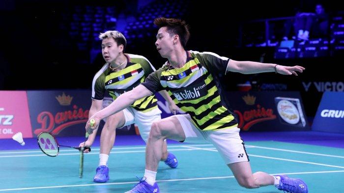 Link Live Streaming Babak Pertama Indonesia Open 2019: Marcus/Kevin Main Terakhir