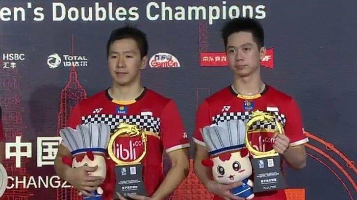 Marcus/Kevin Juarai China Open 2019 Taklukkan Ahsan/Hendra