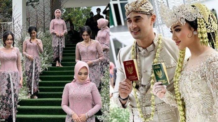 Margin Winaya dan Ali Syakieb Resmi Nikah, Intip Foto-fotonya: Lesty dan Syifa Hadju Jadi Bridesmaid