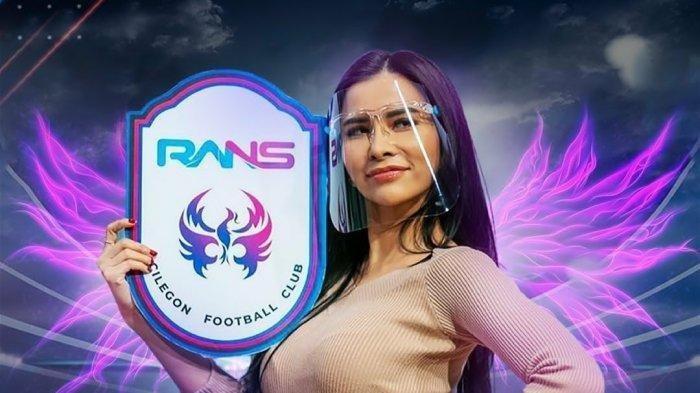 Raffi Ahmad Bentuk RANS Angel, Suporter Wanita RANS Cilegon FC, Maria Vania Gabung: Biar Semangat
