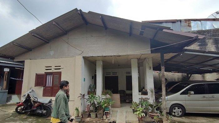 Markas Kekaisaran Sunda Nusantara di Jalan Ciliwung, Beji, Kota Depok, Kamis (6/5/2021)