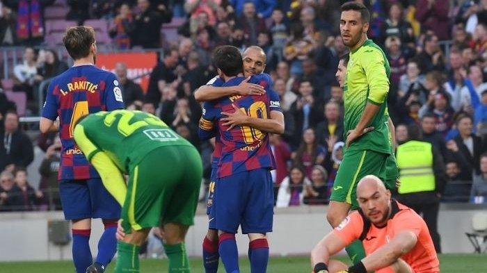 Baru Bergabung, Martin Braithwaite Diisukan akan Dijual Barcelona, Agen : Itu Palsu