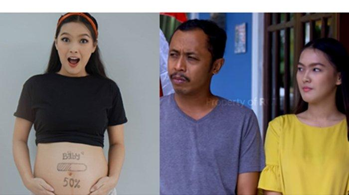 Mas Pur di Tukang Ojek Pengkolan Tak Ditemani Rinjani, Ana Riana Pamer Foto Kehamilan Pertamanya