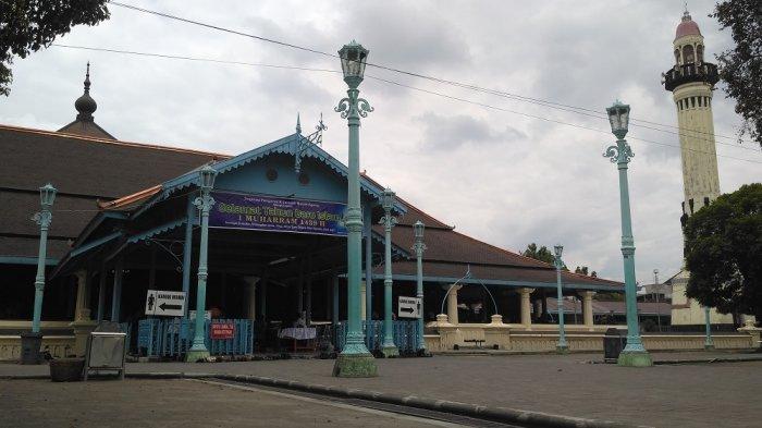 Masjid Agung Solo Tak Gelar Salat Id karena Pandemi Corona, Ribuan Jemaahnya Diminta Salat di Rumah