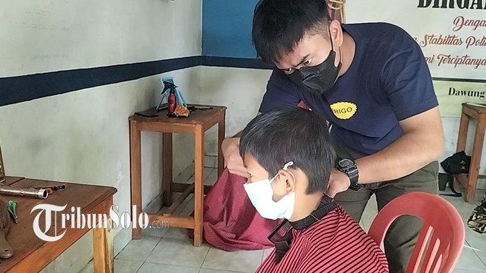 Komunitas Barbershop di Solo Galang Dana, Bantu Warga Positif Corona: Biaya Perawatan dan Pendidikan