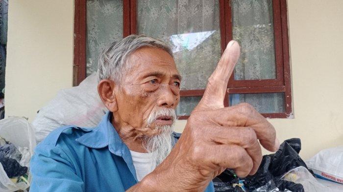 Kisah Ngatimin, Dulu Mata-mata Indonesia sampai Rela Makan Daun, di Usia Tua Jual Mainan