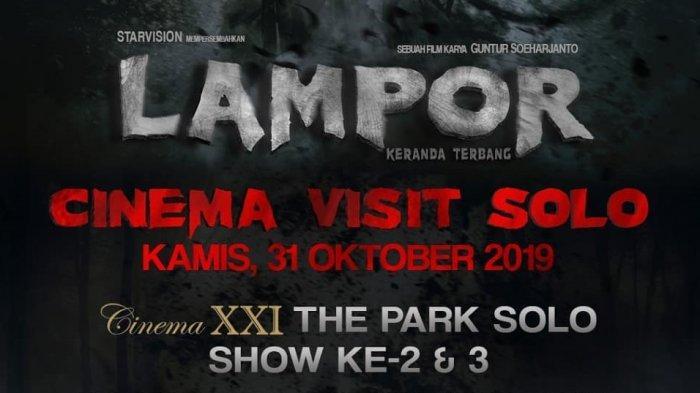 Siang Ini, Pemeran Film Lampor akan Meet and Greet di The Park Mall Solo Baru