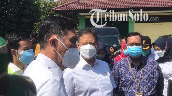 Kejar Solo, Luhut Perintahkan Kabupaten di Solo Raya Bisa Suntikkan 10 Ribu Vaksin Covid-19 Per Hari