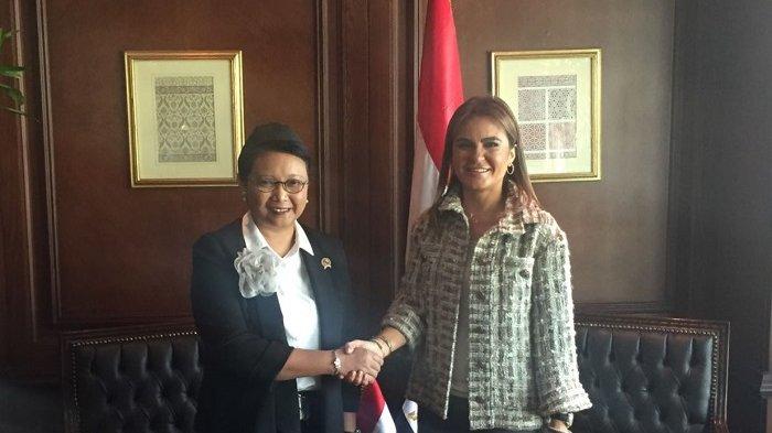 Kerja Sama denganl Mesir, Retno Marsudi Minta Tarif Impor Produk dari Indonesia Diturunkan