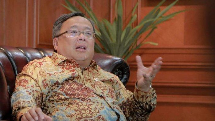 Menristek (Menteri Riset dan Teknologi) dan Kepala BRIN (Badan Riset dan Inovasi Nasional) Bambang Brodjonegoro secara resmi dinyatakan negatif Covid-19.