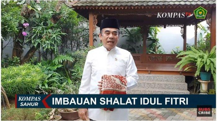 Pandemi Corona Belum Usai, Begini Imbauan Menteri Agama untuk Sholat Idul Fitri Tahun Ini