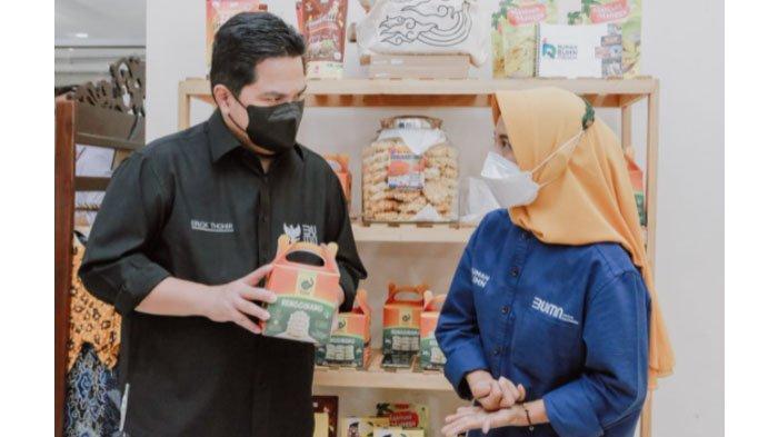 Kunjungan ke Cirebon, Menteri BUMN Erick Thohir Apresiasi PLN Dukung 8 Ribu UMKM Hadapi Pandemi