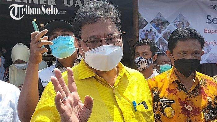 Ditanya Soal Kabar Aziz Syamsuddin Jadi Tersangka Korupsi, Airlangga: Ini Lihat Pertanian Dulu