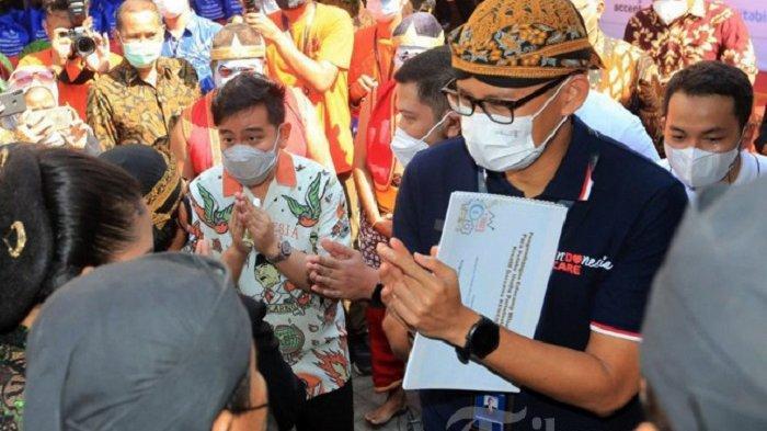 Sandiaga Bongkar Pembicaraan dengan Gibran di Solo, Akui Ada Obrolan Pilgub DKI Jakarta, Ini Isinya