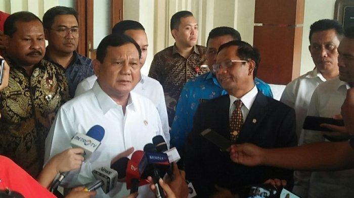 Soal Dugaan Korupsi PT Asabri, Menhan Prabowo: Sungguh Tega Ada Pihak yang Permainkan Uang Prajurit