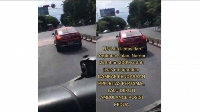 Viral Mercedes Benz Halangi Mobil Damkar di Bali Bikin Netizen Emosi, Terungkap Sosok Pengemudinya