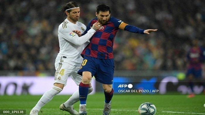 Pernah Saling Tekel, Sergio Ramos Lupakan Masa Lalu, Kini Messi Ditawari Tidur di Rumahnya