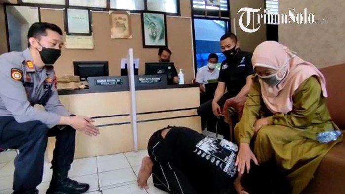 Gegara Tak Diberi Uang Rokok, Anak di Solo Tega Pukul dan Ludahi Kepala Ibunya