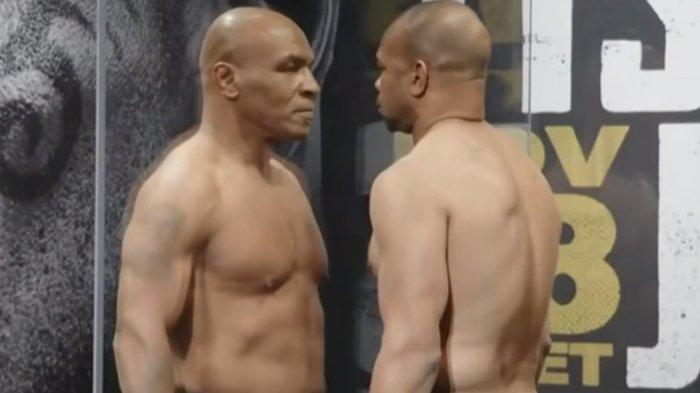 5 Fakta Laga Comeback Mike Tyson vs Roy Jones Jr : Tyson Puasa Makan Daging, Tak Mau Ambil Uangnya