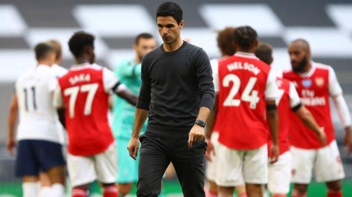 Misi Sulit Arteta Akhiri Kutukan 14 Tahun,Arsenal Tak Pernah Menang Lawan Man United di Old Trafford