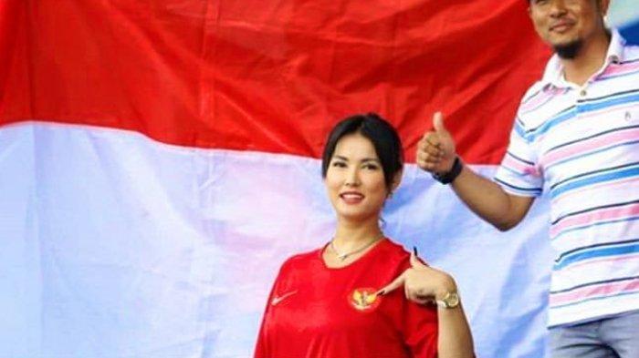 Nonton SEA Games 2019 Pakai Jersey Timnas Indonesia, Miyabi Jadi Trending Topic Twitter