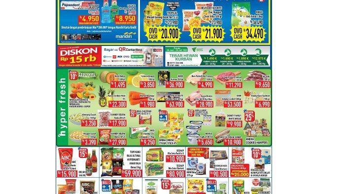 Daftar Promo Hypermart Hartono Solo Baru Periode 16-18 Juni 2020: Mulai Beras hingga Minyak Goreng