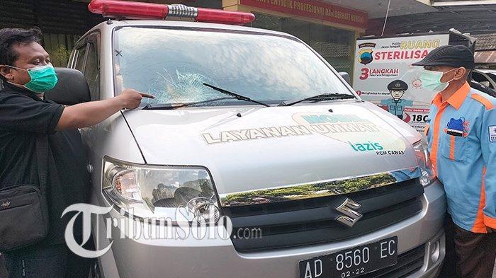 Isu Ambulans Kosong Merebak di Klaten, Seorang Driver Jadi Korban: Dapat Cacian Hingga Lemparan Batu