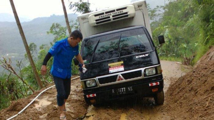 Kala Momen 'Video Call', Selamatkan Sopir Mobil Es Krim dari Tragedi Longsor di Banjarnegara