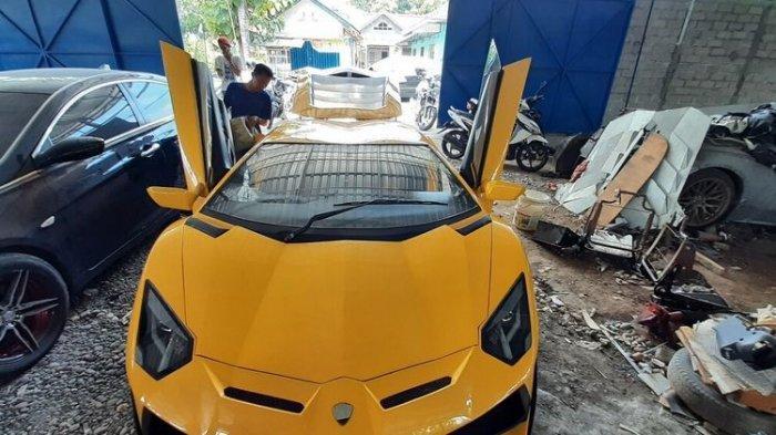 Viral 'Lamborghini' Made in Gunungkidul, Ternyata Dibuat Oleh Pria Lulusan SMP dan Belajar dari Foto